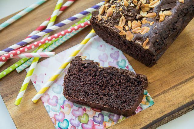 Bezlepkový čokoládovo - mandlový chlebíček