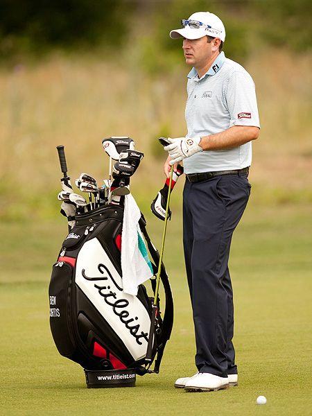 Ben Curtis: Titleist Golf Clubs at the Valero Texas Open