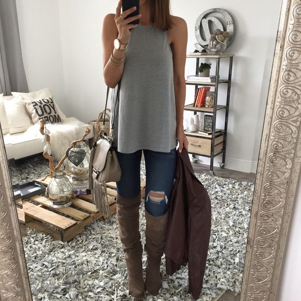 The Jolie Open Back Tank. Love this outfit but that room is amazing. I love the pallet and the rug so much