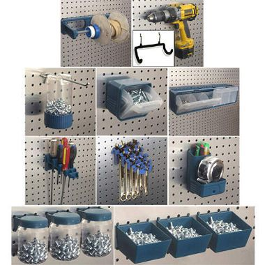 17 best images about pegboard organization on pinterest for Craft room pegboard accessories