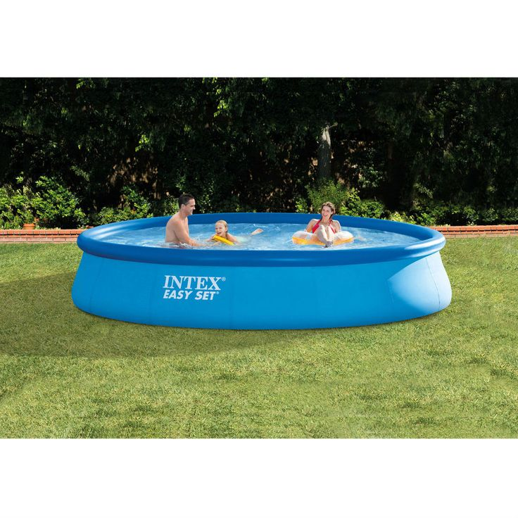 Inflatable Swimming Pool Above Ground Family Garden Easy Set with Filter Pump US #InflatableSwimmingPool