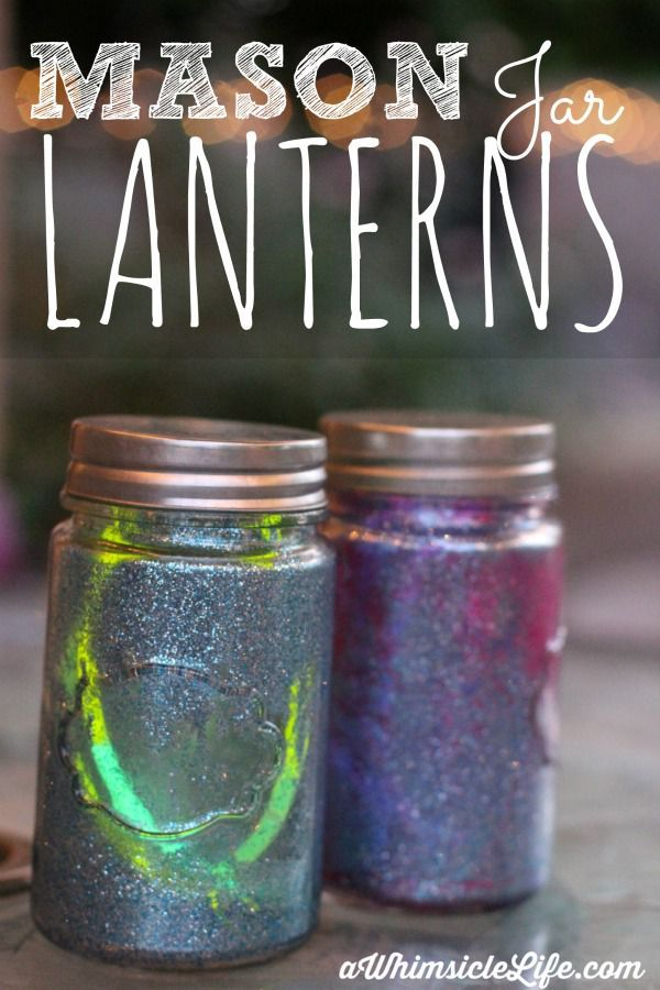 341 Best Images About Mason Jars Crafts On Pinterest