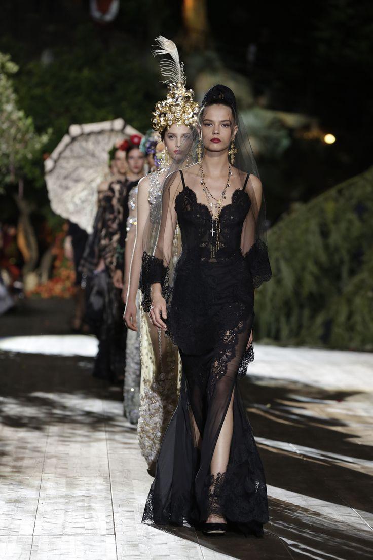Défilé Dolce & Gabbana Alta Moda Automne-hiver 2015-2016 95