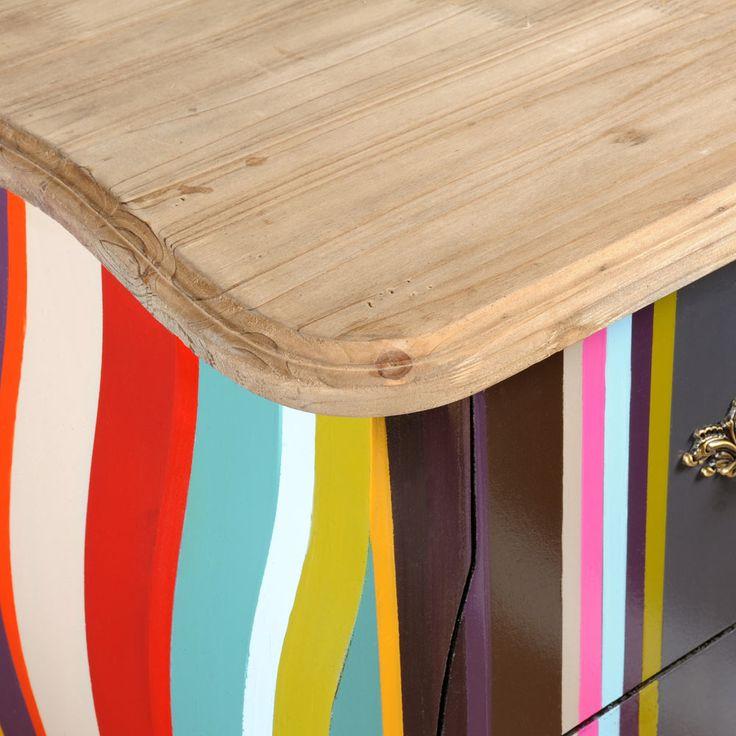17 meilleures id es propos de commode rayures sur. Black Bedroom Furniture Sets. Home Design Ideas
