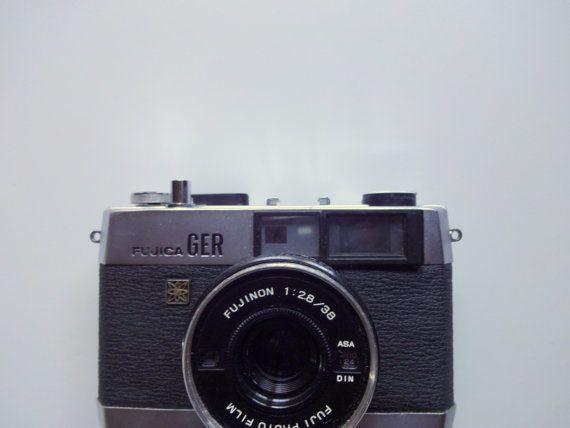 Vintage Fujica Film Camera 1970s by WylieOwlVintage on Etsy, $15.00