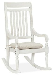 Salem Rocking Chair - traditional - outdoor chairs -  - by Pottery Barn