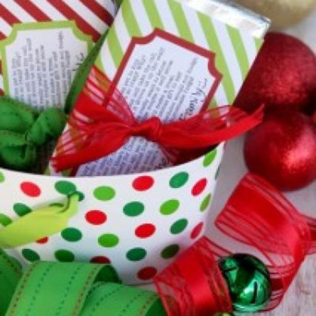 Christmas candy bar wrappers free christmas printables xmas crafts ideas pinterest for Candy bar wrapper ideas