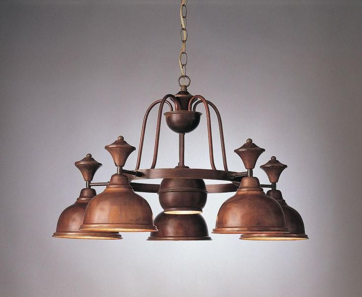 5-Light Country Chandelier