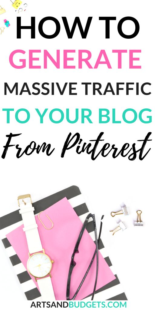 Looking to grow your blog traffic from Pinterest? This post shares tips on how to generate massive traffic to your blog from Pinterest in 2018 | how to grow Pinterest traffic| #pinterestmarketing  #bloggingtips