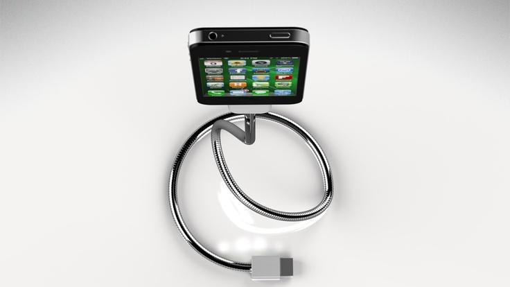 Une Bobine Flexible iPhone Cable