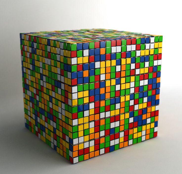 rubiks cube in martini - photo #17