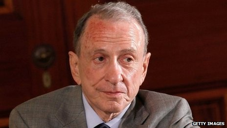 Arlen Specter, the former senator for Pennsylvania who late in life crossed the political divide from Republican to Democrat, has died aged 82.    He passed away at home on Sunday from non-Hodgkin lymphoma, a cancer of the lymphatic system.    An independent-minded moderate, he spent three decades as a Republican senator before switching to Democrat in 2009 and losing the election.    He left the Republican party because he said it had become too conservative.