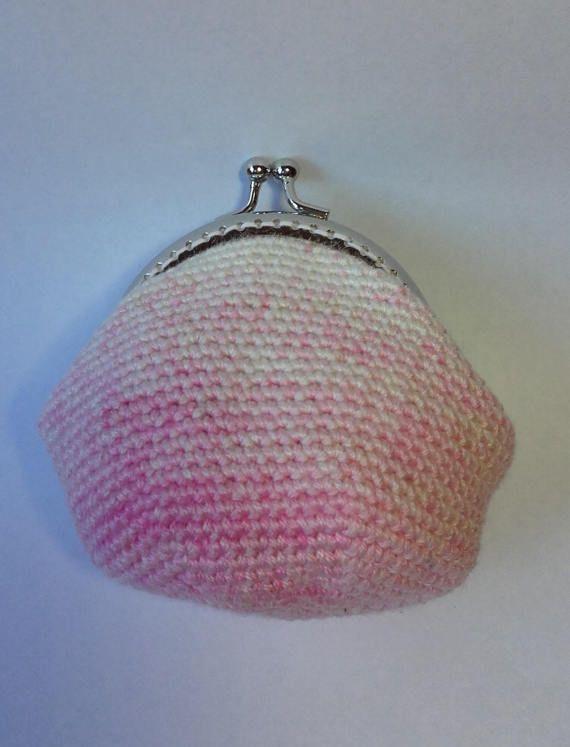 Ombre Crochet Coin Purse