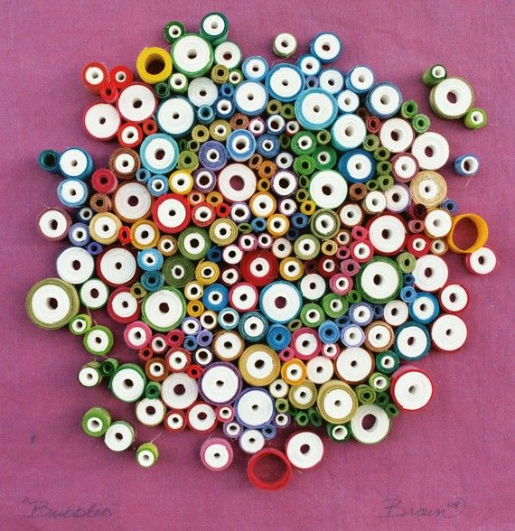 Best 25 rolled paper art ideas on pinterest paper wall for Paper quilling art projects