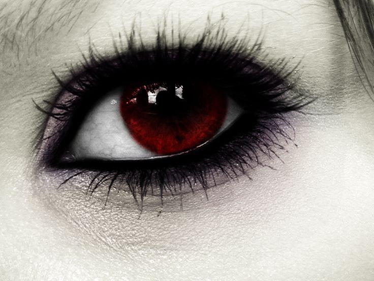 Картинки красные глазки