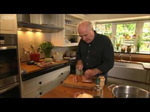 Pecorino cheese & pancetta spaghetti carbonara - Rick Stein