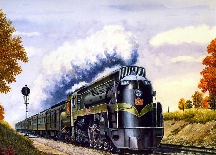 40 best Trains images on Pinterest Train art, Steam locomotive and - copy lionel trains coloring pages