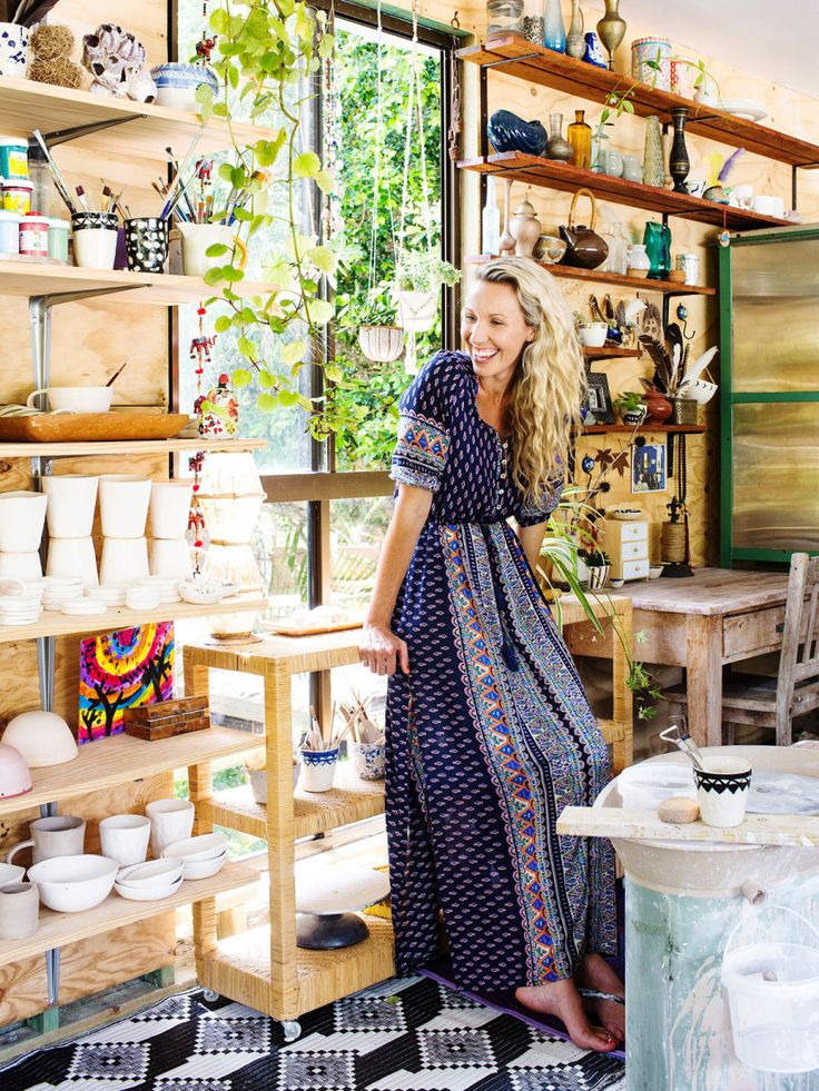 Eve Simmons in her home studio. Photos – Kara Rosenlund for The Design Files.