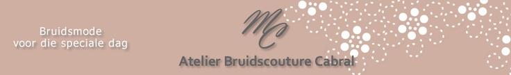 Atelier Bruidscouture Cabral is gespecialiseerd in het ontwerpen van bruidsjurken.