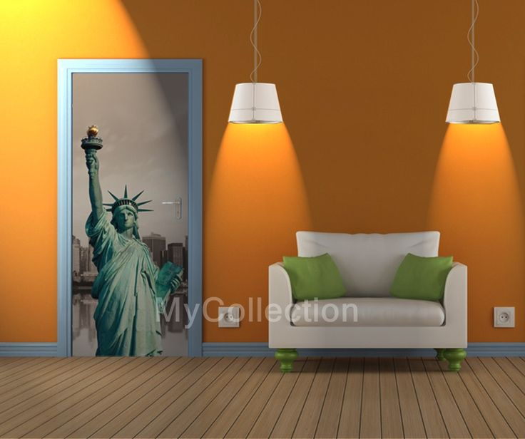 Door sticker Libertà By MyCollection. & 26 best MyCollection - Door Coverings images on Pinterest | Door ...