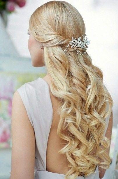 Festliche-Frisuren-Lange-Haare-Locken | Einfache Frisuren