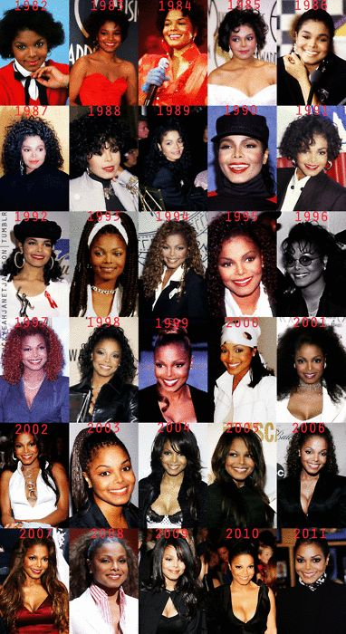 pendule for janet photo: Janet Jackson Janet_ThroughTheYears.gif
