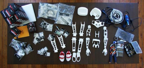 3ders.org - Poppy: Open source 3D printed humanoid robots | 3D Printer News & 3D Printing News