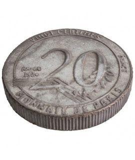 Podkładka Zinc 20 Centimes