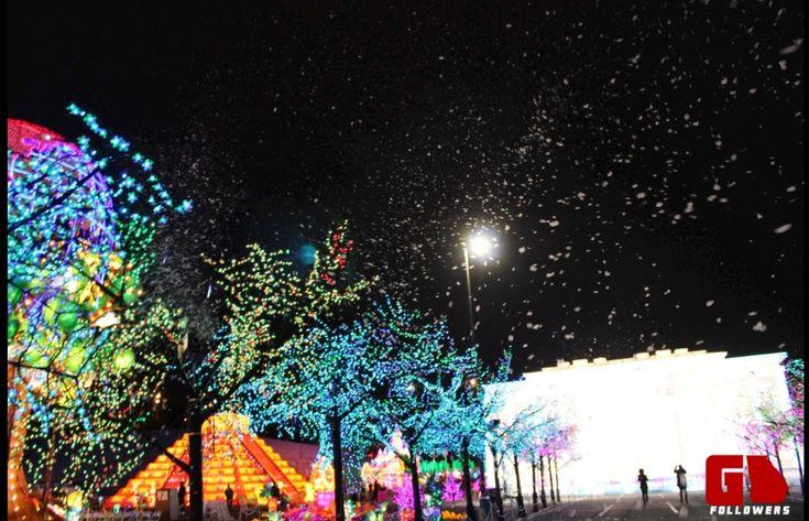 images of global winter wonderland   ... grand opening of global winter wonderland this lantern festival has