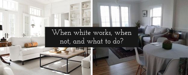 How to paint dark walls? Shocking true about white and its in(ability) to brighten up a dark interior! #interiordesign #darkinterior