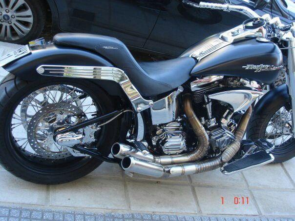 harley davidson custom made in Greece 9