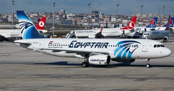 Planes delayed and grounded - new immigration order - 012816egyptair