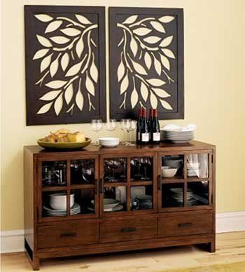 Cut Out floral Wall Panel Art