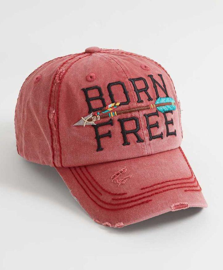 Cute Baseball Hats : Born Free Hat | Buckle