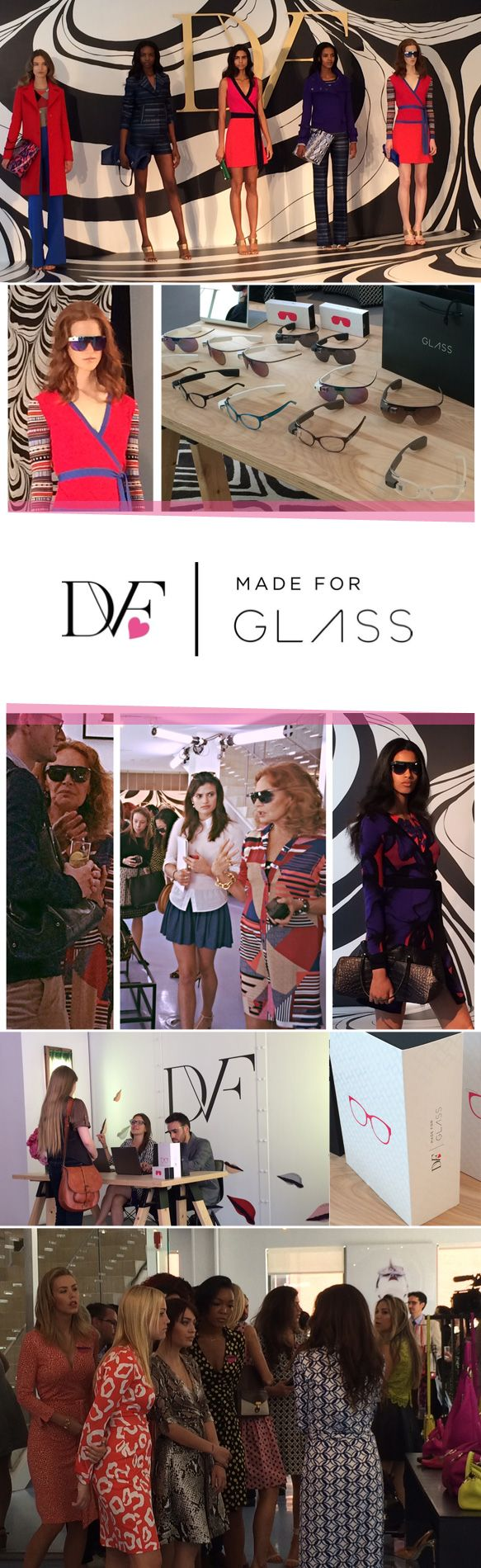 Say Hello to DVF | Made for Glass: http://eyecessorizeblog.com/?p=5878Hello, Glasses, Events, Dvf