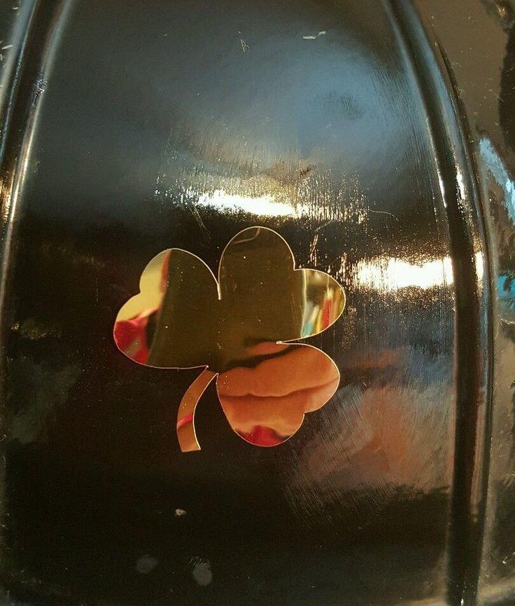 Gold Notre Dame Fighting Irish shamrock 1.75 inch decal fire helmet sticker yeti  | eBay