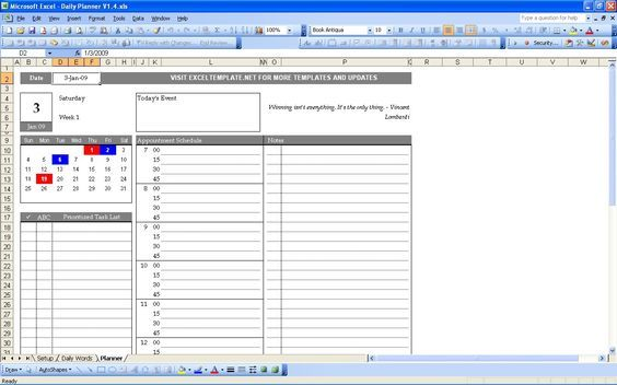 excel templates to check out daily planner 1 daily planner excel