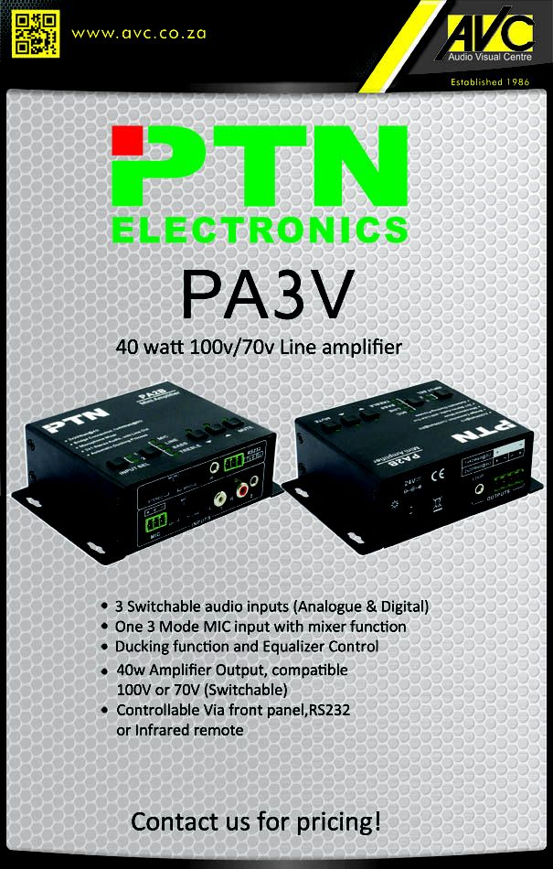 PTN PA3V mini amplifier