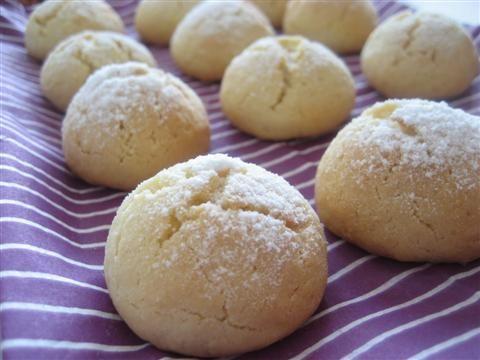 I Biscotti al cocco sono pronti