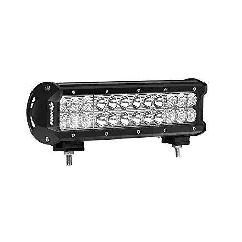 72W Led Light Bar, Eyourlife 12V Led Light Bar Cree Led Light 72W 12 Inch LED Work Light Spot Flood Combo Beam Daytime Driving Lights Fog Lights ATV UTV SUV Marine Boat Jeep Lighting RV Accessories - Eyourlife 12 inch Led Light Bar Truck Light Bar Off Road Driving Light 4X4 ATV SUV Jeep 72W 12V 24V(barra de luz led) Description Wide operating voltage range: it can apply to different types of trucks,cars,and other vehicles. The appearance of fine craft and easy to install bracket...