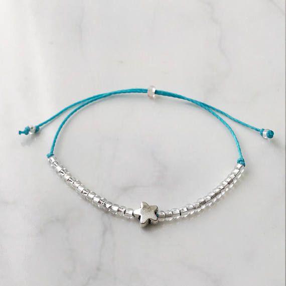 Lucky Star Bracelet, great gift for her