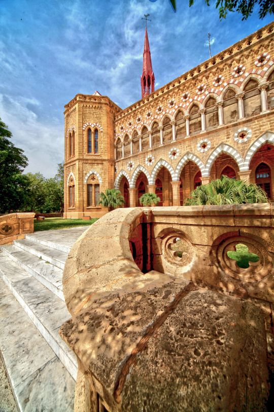 Frere Hall, Karachi, Pakistan