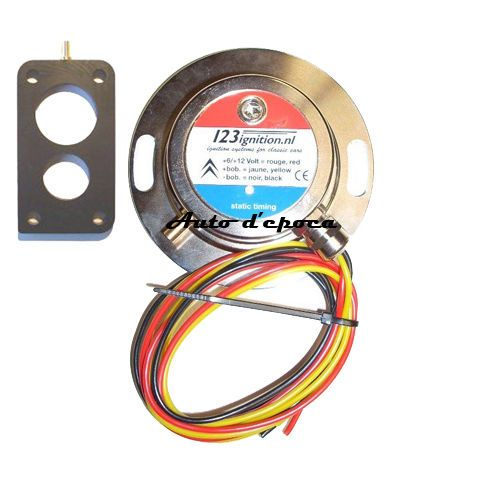 kit accensione elettronica racing per citroen 2cv 4/6  dyane mehari 12volts