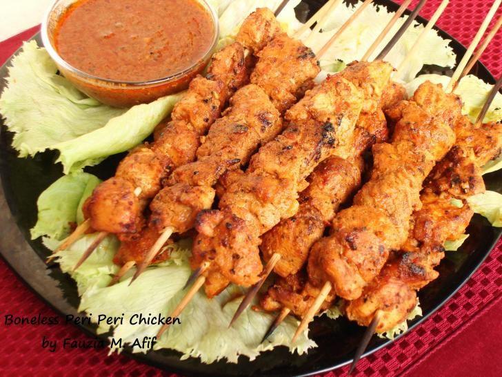 Boneless Peri Peri Chicken (Nando's Style) | Fauzia's Kitchen Fun