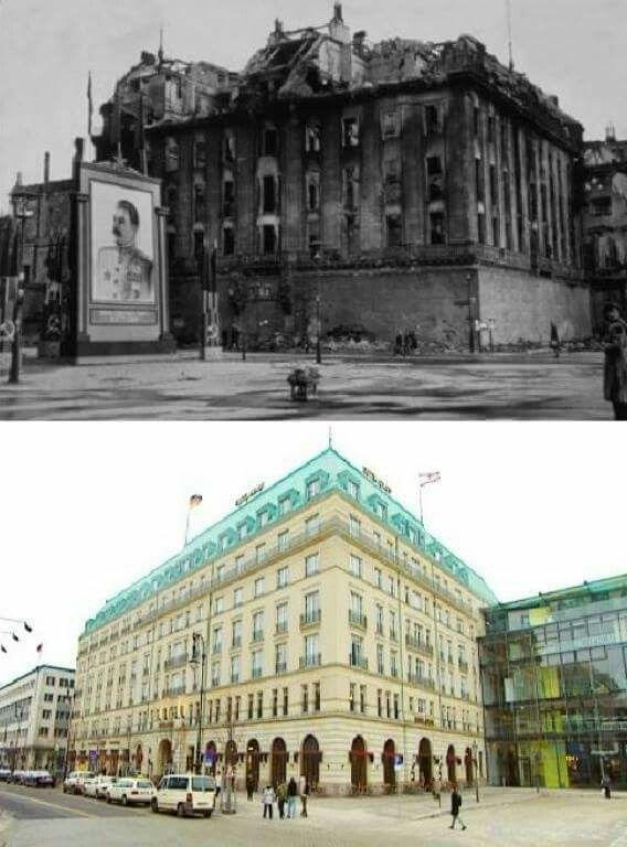 Then & Now Hotel Adlon Berlin