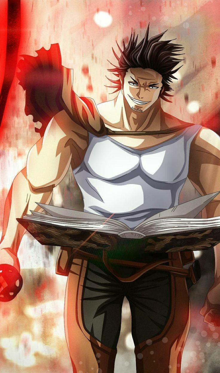 World Black Clover Anime Black Clover Manga Anime