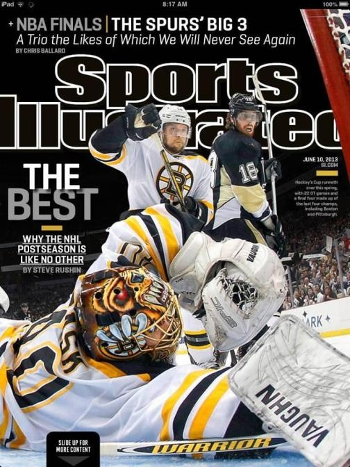 Tuukka Rask, Bruins Featured on Sports Illustrated Cover That Calls NHL Postseason 'The Best' (Photo) 2013