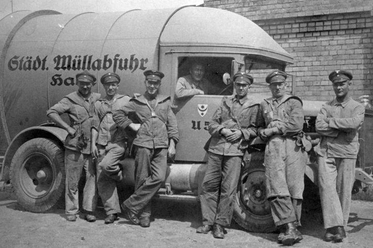 Städtische Müllabfuhr Halle (Saale), 1930(?)er Jahre