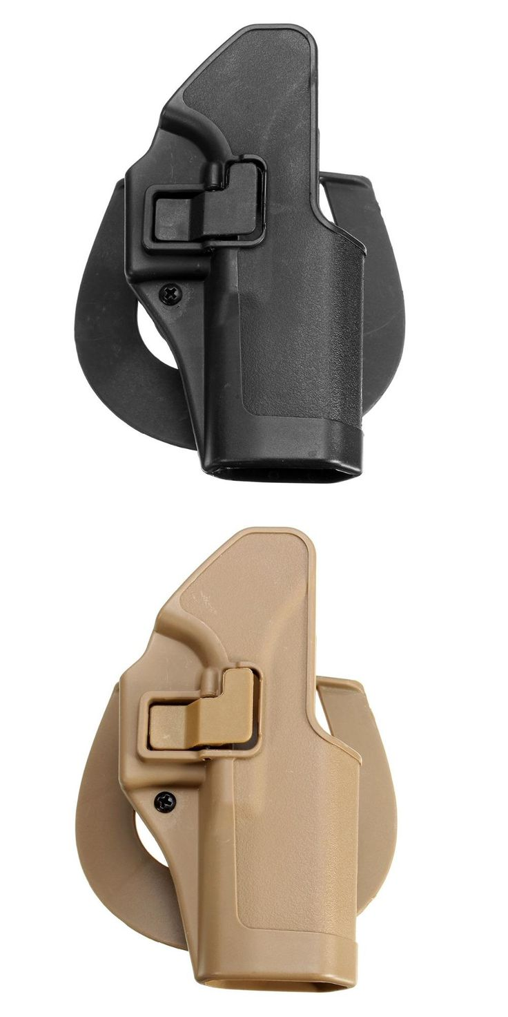 [Visit to Buy] Hot Sale Outdoor Tactical gun Holster Military Airsoft Hunting Belt Holster Right Hand Pistol Holster Case For Glock 17 #Advertisement