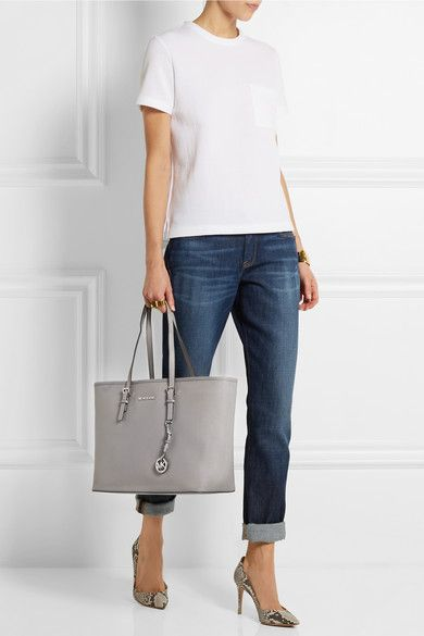 d7b2bad3ea4c Womens Michael By Michael Kors Selma This tote would be great for  commuting! MICHAEL Michael Kors Jet Set textured- ...